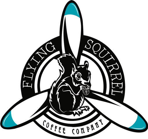 Flying Squirrel Coffee Company Logo